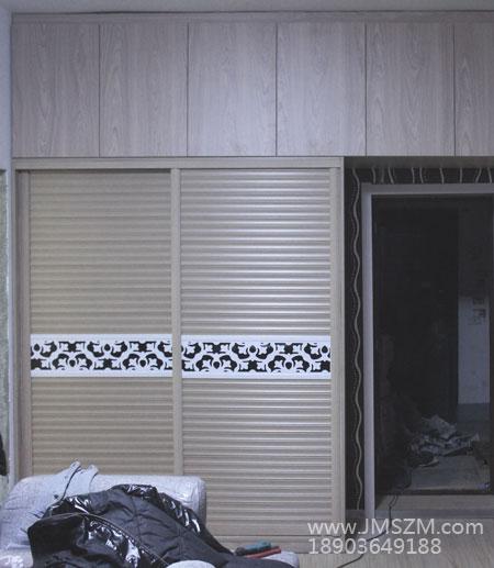衣柜门效果图大全2016-吊柜和拉门衣柜的组合